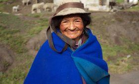 Femme des Andes